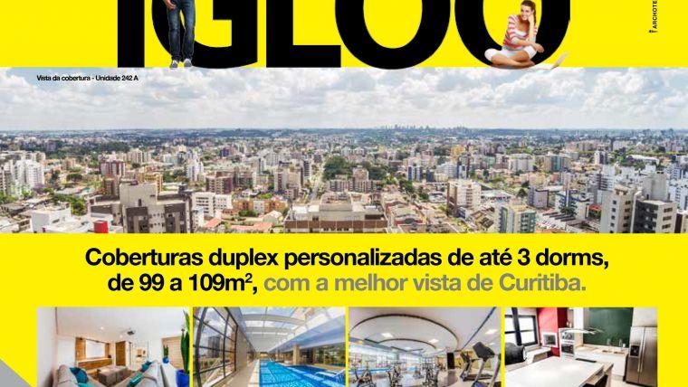 Publicidade Archote cria campanha para empreendimento iGLOO Curitiba.